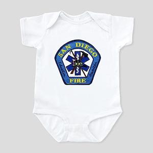 San Diego Fire Infant Bodysuit