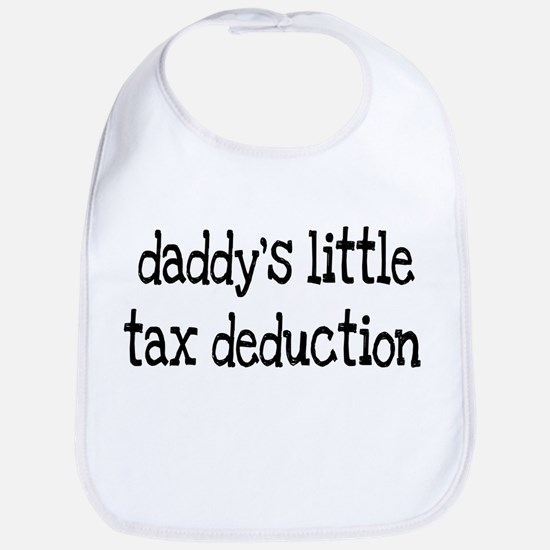 Daddy's Little Tax Deduction Bib
