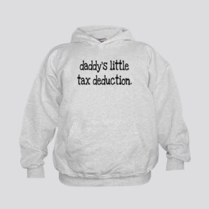 Daddy's Little Tax Deduction Kids Hoodie