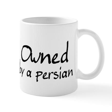 owned by a persian Mug