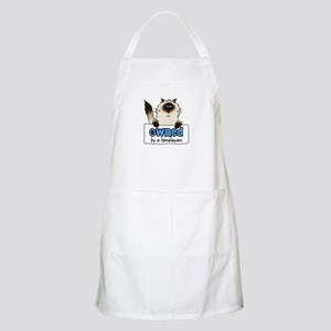 owned by a himalayan BBQ Apron
