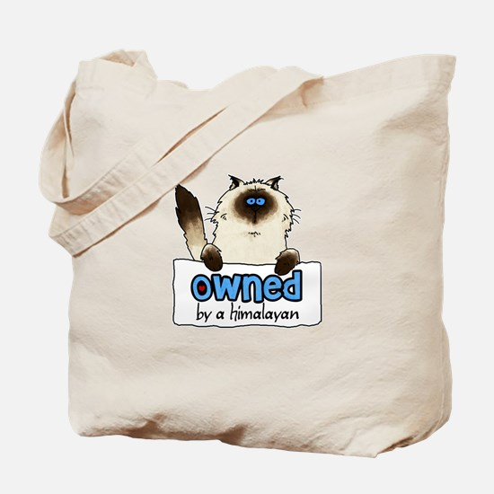 owned by a himalayan Tote Bag