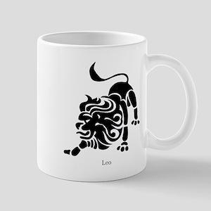 Leo Zodiac Astrology Tattoo Mug