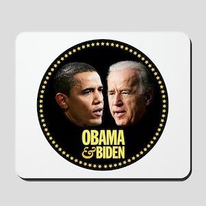Obama-Biden Star Rim 006 Mousepad