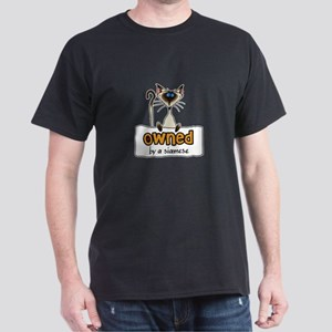 owned by a siamese Dark T-Shirt