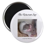 "Reluctant Spy 2.25"" Magnet (10 pack)"