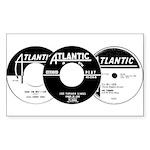 Atlantic R&B Montage Rectangle Sticker