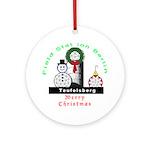 Field Station Berlin Christmas Ornament (Round)