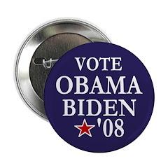 Vote Obama Biden Button