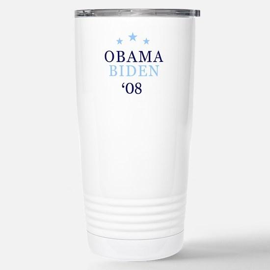 Obama Biden '08 Stainless Steel Travel Mug