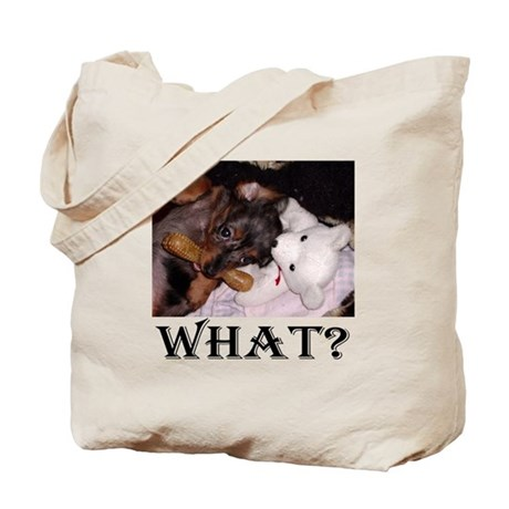Dachshund What? Tote Bag