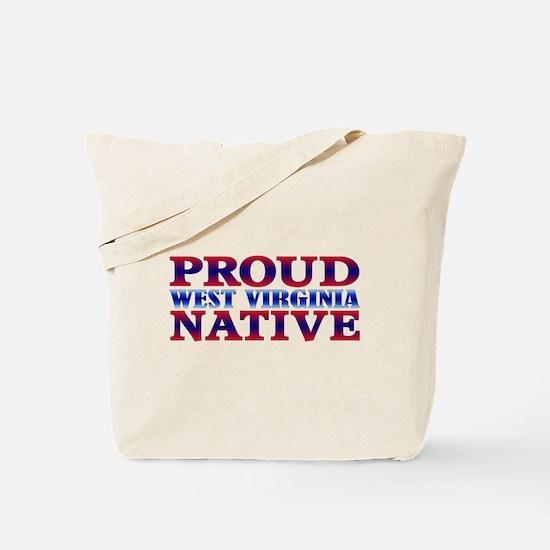 Proud West Virginia Native WV Book Bag Both Sides