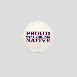 Proud West Virginia Native Mini Button