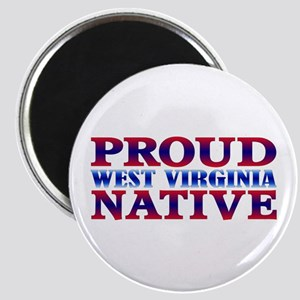 Proud West Virginia Native Magnet