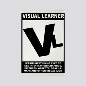 Visual Learner Rectangle Magnet