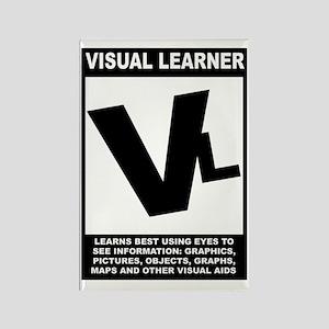 Visual Learner Rectangle Magnet