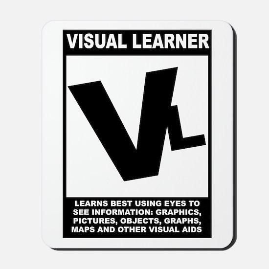 Visual Learner Mousepad