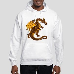 Yellow Dragon Hooded Sweatshirt