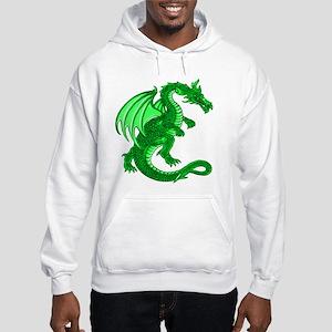 Green Dragon Hooded Sweatshirt