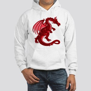 Red Dragon Hooded Sweatshirt