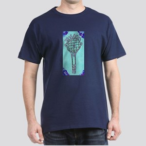 Kawaii Cute Tennis Racket Dark T-Shirt