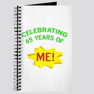 Celebrate My 65th Birthday Journal