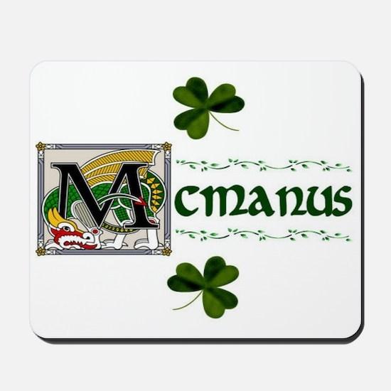 McManus Celtic Dragon Mousepad