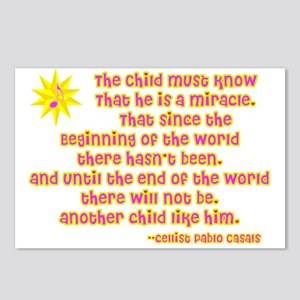 Child is a Miracle Postcards (Package of 8)