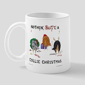 Nothin' Butt A Collie Xmas Mug