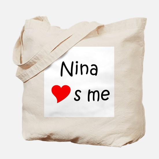 Unique Nina Tote Bag