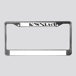 Iconoclast #6 License Plate Frame