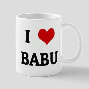 I Love BABU Mug