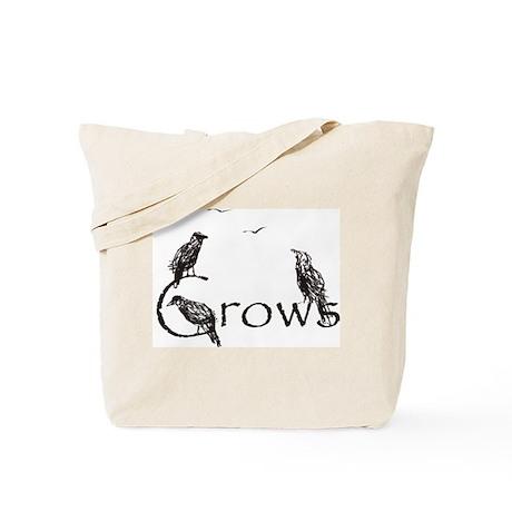 crow design Tote Bag