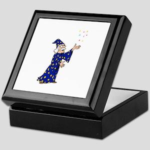 Blue Wizard Keepsake Box