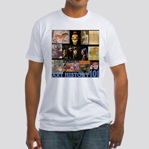Art History 101 Fitted T-Shirt