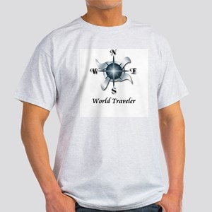 World Traveler - Light T-Shirt