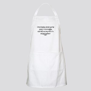 My Path To Enlightenment BBQ Apron