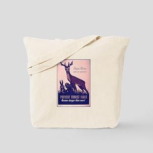 Fire Prevention Tote Bag