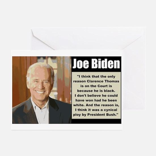 Biden on Clarence Thomas Greeting Cards (Pk of 10)