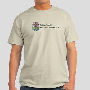 Different Minds Light T-Shirt