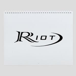Riot Wall Calendar