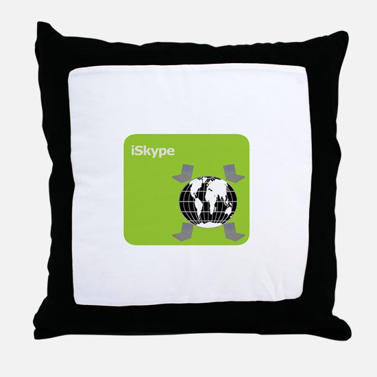 Got Skype? Throw Pillow