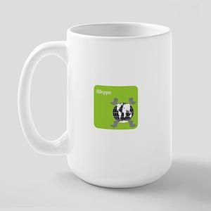 Got Skype? Large Mug