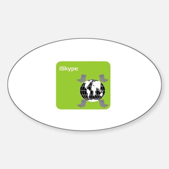 Got Skype? Oval Decal