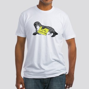 Save the Seals Fitted T-Shirt