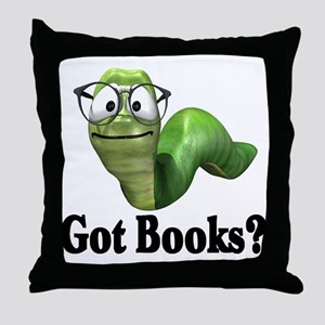 Got Books? Throw Pillow