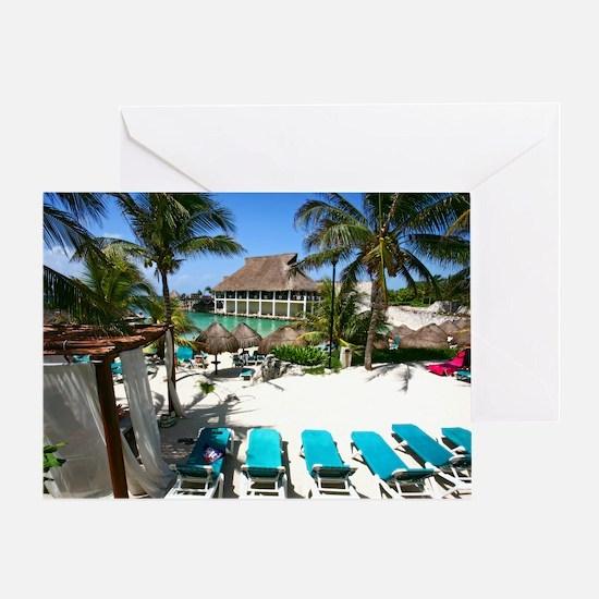 Riviera Maya Greeting Card