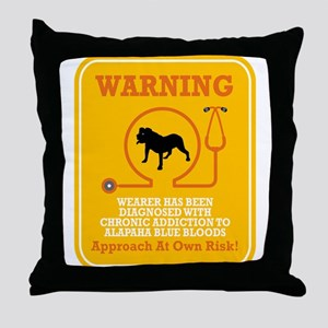 Alapaha Blue Blood Bulldog Throw Pillow