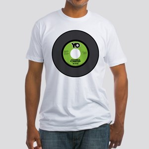 YO-Groove On 45RPM Fitted T-Shirt