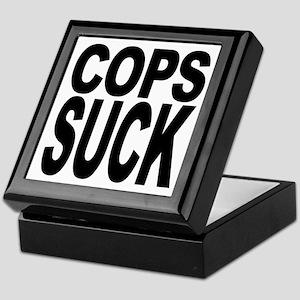 Cops Suck Keepsake Box